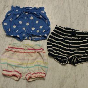 Baby GAP bubble shorts lot